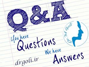 سوال و جواب درباره جراحی بینی